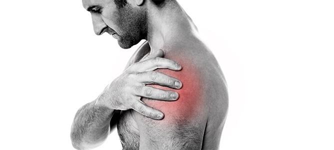 Localizzazione del dolore causato da Slap lesion della spalla