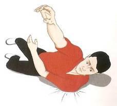esempio 1 di caduta sulla spalla