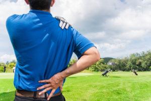 Dolore alla spalla durante o dopo il golf