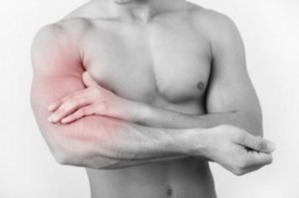 Localizzazione del dolore nella rottura del capo lungo