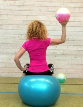 esempio 1 di esercizio per la riabilitazione della spalla